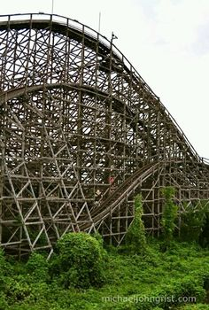 Another shot of the roller coaster.