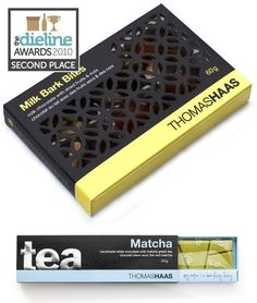 Thomas Haas Chocolates Packaging