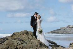 Free Wedding, Wedding Blog, Lusty Glaze Beach, Newquay, Handfasting, Wild And Free, Boho Bride, Wedding Couples, Bride Groom