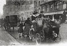 Les transports individuels à Paris en 1900