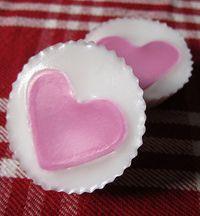 Handmade Soap Hearts