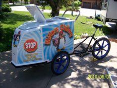 Millers Chillers ice cream bike 2