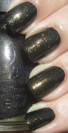 I have this. ~ Cast A Spell ~ The PolishAholic: China Glaze Halloween 2012 Wicked Collection Swatches