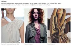 Gathering - S/S 15 Fashion Forecast By WGSN