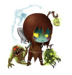 Chibi Yorick The Gravedigger  by =yanniplum