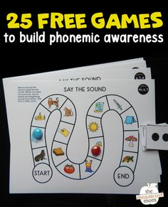 If you have learners who struggle to isolate beginning sounds, these free phonemic awareness games are the perfect fit! Use them in preschool or kindergarten. Use them in literacy centers or small groups. Phonemic Awareness Kindergarten, Phonological Awareness Activities, Kindergarten Literacy, Literacy Centers, Beginning Sounds Kindergarten, Early Literacy, Reading Intervention, Reading Skills, Teaching Reading