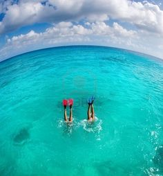 My husband and I always snorkel on vacation - under the sea is another world, so fun to have this hobby together :)