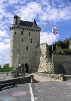...visit the fortress at Chinon which attracts many Loire Valley tourists to its battlements in search of Joan of Arc,.