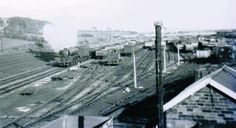Shildon marshalling yard from Thickley spout bridge