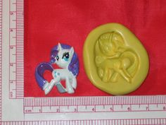 My Little Pony 2D Silicone Push Mold A755 by LobsterTailMolds