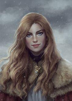 Elantel (Nordling Princess), Cate Voynova on ArtStation at https://www.artstation.com/artwork/4eoVl