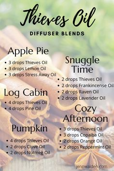 Young Essential Oils, Thieves Essential Oil, Essential Oils Guide, Doterra Essential Oils, Thieves Oil Uses, Eucalyptus Essential Oil Uses, Thieves Oil Recipe, Peppermint Essential Oil Uses, Fennel Essential Oil