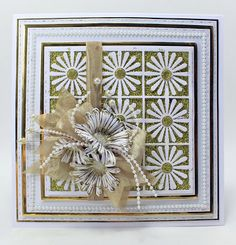 John Next Door: Easter Sunday Gold. Happy Easter Sunday, Card Making Techniques, Next Door, Handmade Birthday Cards, I Card, Birthdays, Sue Wilson, Creative, Floral