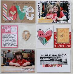 Tips for documenting Valentine's day from Jenni Hufford