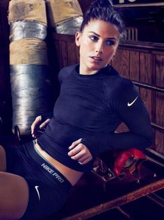Alex Morgan a striker for the Us national soccer team.