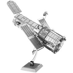 Create your very own miniature model of the Hubble Telescope by Metal Earth! The Hubble Telescope was launched into orbit by NASA in 1990 and has captured some of the most informative photos of space that have ever been recorded.