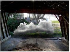 Landscape Photograph - Barn Cloud by Chris Kaan