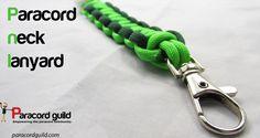 Paracord neck lanyard tutorial.