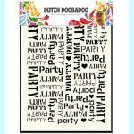 Dutch Doobadoo  Template - Art Party