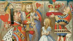 1865 - present: Macmillan has been sending readers to Wonderland since 1865 Alice In Wonderland Original, Alice In Wonderland Characters, Queen Art, Literature, Presents, Art Prints, Drawings, Painting, Image