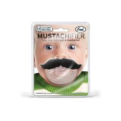 Tetine-Moustache-Cadeau-Insolite-pour-Bebe-Neuf