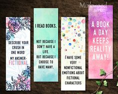Printable Harry Potter Bookmarks Wizard Spells and Charms