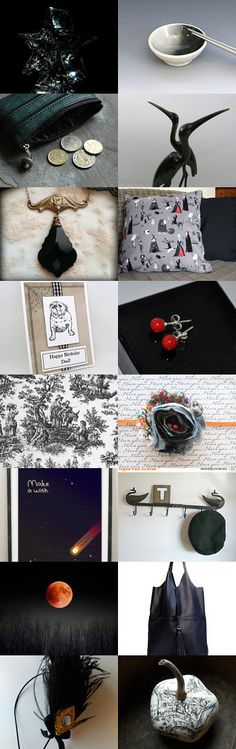Black Day by Olga on Etsy--Pinned+with+TreasuryPin.com