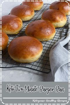 Homemade Hamburger Buns - Elevate your burger game with these delicious Homemade Hamburger Buns. These brioche-like buns are light in texture and high in flavour. Makes 8 buns. Homemade Burger Buns, Homemade Hamburgers, Homemade Bread Buns, Best Burger Buns, Hamburger Bun Recipe, Vegan Hamburger Buns, Popular Recipes, Cooking Recipes, Cooking Tips