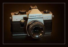 Praktica by Mister Oy, via Flickr Cameras, Camera, Film Camera