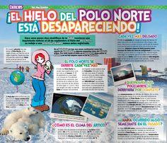 El hielo del polo norte  Dini