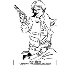 star wars coloring page han solo embroidery patterns Pinterest