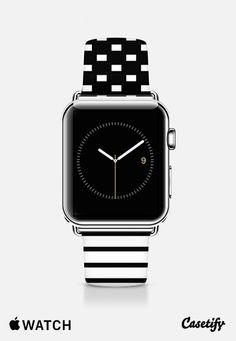 B&W graphic watch band Apple Watch Band (42mm) by Yasmina Baggili   Casetify