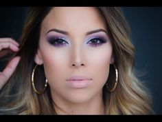 She's a newer youtuber but she's amazing! Vibrant Purple Eyes: Kat Von D Chrysalis Palette Tutorial! - YouTube