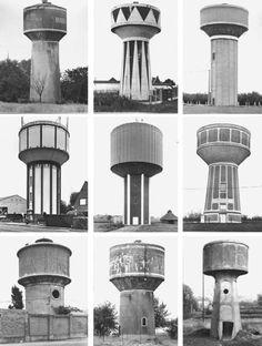 2014 - Art Basel Miami / Design - Bernd & Hilla Becher, 'Typologie Wassertürme,' 1967-2010, Konrad Fischer Galerie