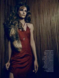Regina Krilow by Fabio Bartelt for Harpers Bazaar Brazil November 2013