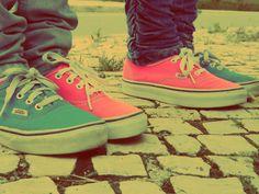 vans shoes <3