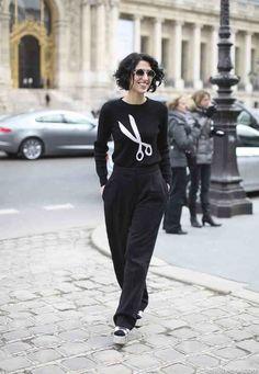 Fancy sweater #streetstyle #fashionweek