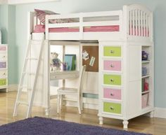 Loft Bed, Pulaski, Build-A-Bear Workshop Home Pawsitively Yours
