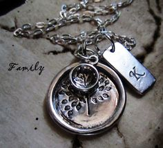 Personalized Sterling Silver Hand Stamped My by LaBellaSoulDesigns, $49.00