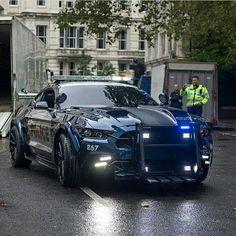 Police car tuning