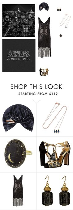 """Baby, your sleep is showing - Louis Armstrong"" by mariamaro on Polyvore featuring Mode, Valentino, BROOKE GREGSON, Andrea Fohrman, Dolce&Gabbana, WeSC und Citrine by the Stones"