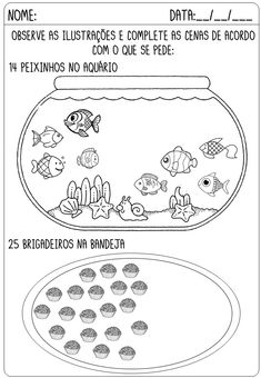 Imagem Portuguese Lessons, English Worksheets For Kids, Reading Comprehension Worksheets, Learning Arabic, Home Schooling, Mathematics, Blog, Maria Clara, Reading Activities