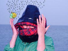 Shinny tartan vinyl scoodie by CiervaUK on Etsy Tartan, Etsy, Plaid