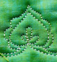 Tuesday Tutorial-The Heart Leaf Vine