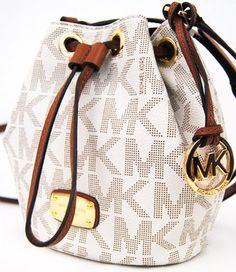 Michael Kors Jules Drawstring Crossbody Shoulder Bag