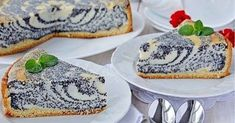 Recept na lahodný tvarohový koláč s makom. No Salt Recipes, Sweet Recipes, Baking Recipes, Czech Recipes, Russian Recipes, Delicious Cake Recipes, Dessert Recipes, Sweet Pastries, Cake With Cream Cheese