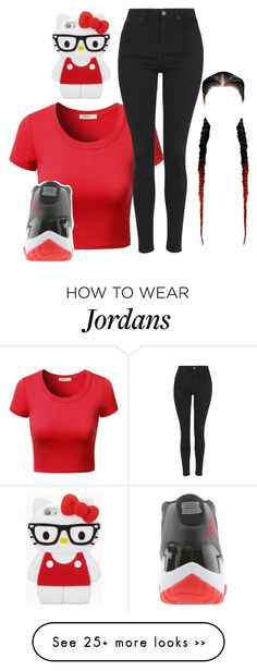 """""""Untitled #49"""" by mommy-ii on Polyvore featuring moda, J.TOMSON, Topshop e Forever 21"""