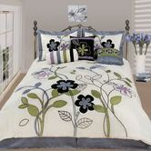 Wellington & Castle Milan Seven Piece Comforter Set Bed Comforter Sets, Duvet, Comforters, Queen Bedding, Neck Roll Pillow, Quilt Cover, Home Textile, Bed Spreads, Flower Decorations