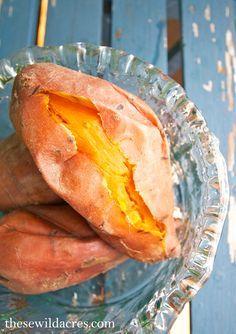 Perfect Instant Pot Sweet Potatoes