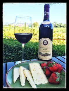We are a family owned winery and we take pride in how close our team is here at V. Sattui. Our Family Red is a staff favorite and we would like to invite you to enjoy a glass with us today! This bold and well-rounded wine is an ideal pairing with Lagrein, a soft and tasty cow's milk cheese that will entice your palate while sipping our Family Red. Happy #WineWednesday to you! Cheers #NapaValley #VSattui #WineCountry